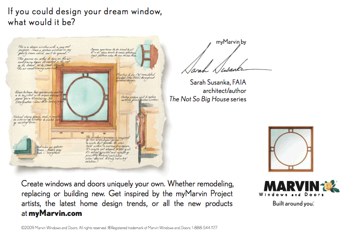 Marvin Windows magazine ad
